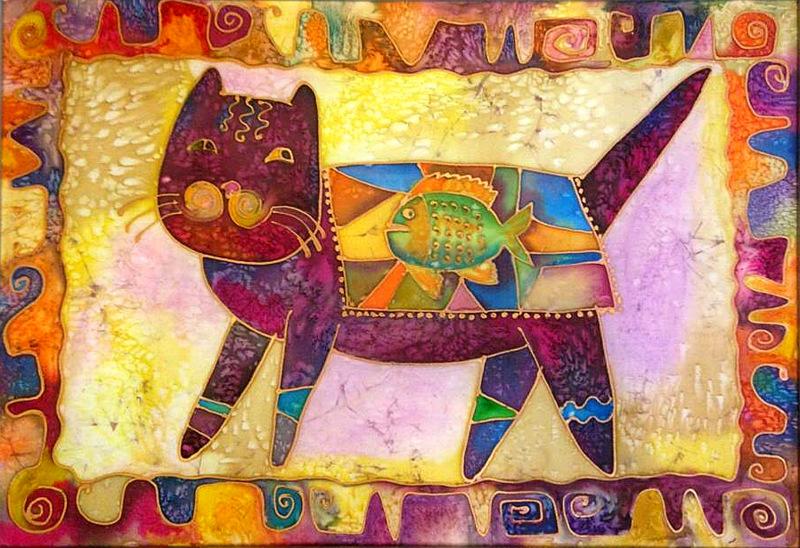 Кот батик